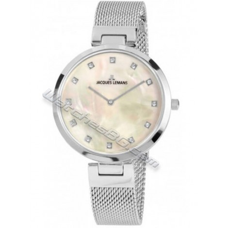 Дамски кварцов часовник JACQUES LEMANS Milano Classic 1-2001C