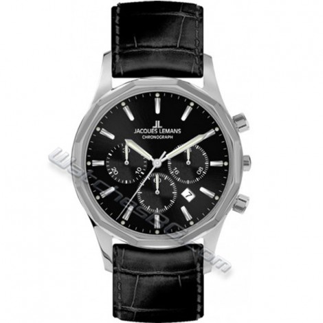 Мъжки кварцов часовник JACQUES LEMANS Stockholm Classic 1-2021A Chronograph