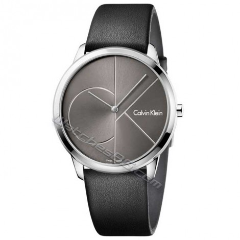 """Мъжки швейцарски кварцов часовник Calvin Klein """"Minimal"""" K3M211C3"""