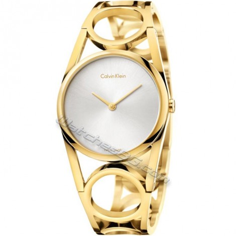 Дамски часовник Calvin Klein Round K5U2M546