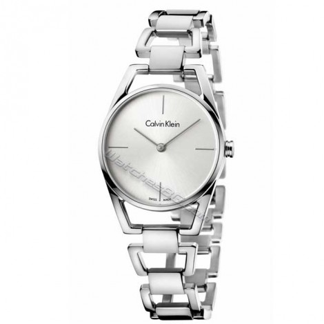 "Швейцарски дамски кварцов часовник Calvin Klein ""Dainty"" K7L23146"