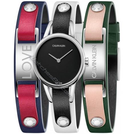 Дамски кварцов часовник Calvin Klein Mycalvins K9D231LY