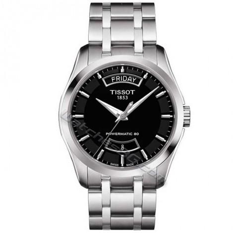 """Мъжки механичен часовник TISSOT Powermatic 80 """"COUTURIER"""" T035.407.11.051.01"""