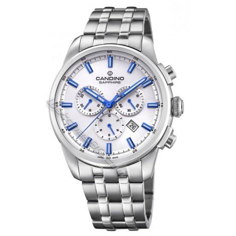 Мъжки кварцов часовник CANDINO Elegance C4698/2 Chronograph