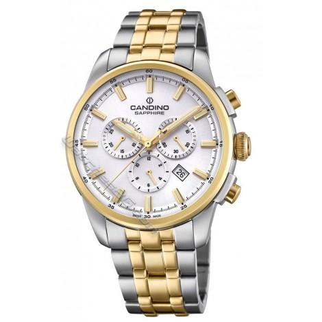 Мъжки кварцов часовник CANDINO Elegance C4699/1 Chronograph