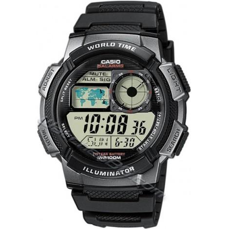 CASIO AE-1000W-1BV Sport Timer