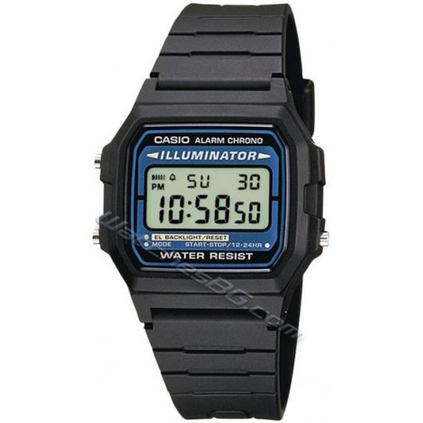 Casio F-105W-1AW Collection