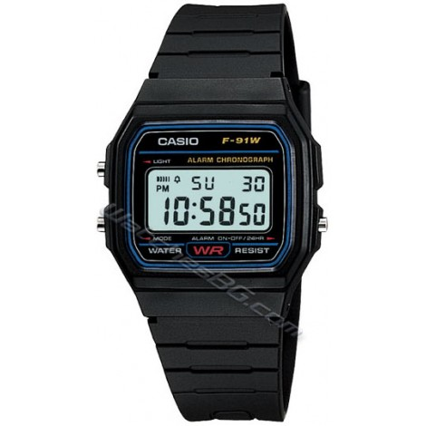 Casio F-91W-1YE Collection