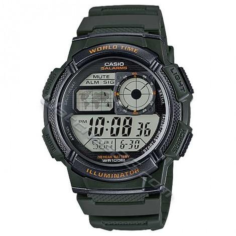 Мъжки часовник CASIO AE-1000W-3AV Sport Timer