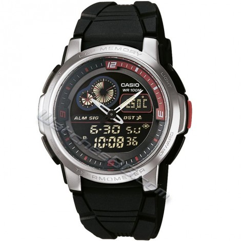 Часовник CASIO AQF-102W-1BV Collection