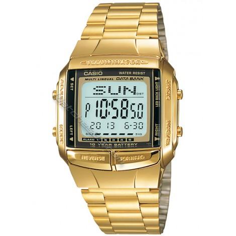Мъжки кварцов часовник CASIO DATA BANK DB-360G-9A