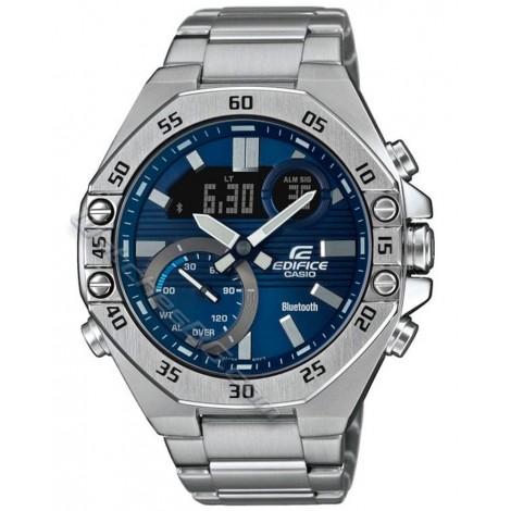 Мъжки соларен часовник CASIO EDIFICE ECB-10D-2AEF Bluetooth