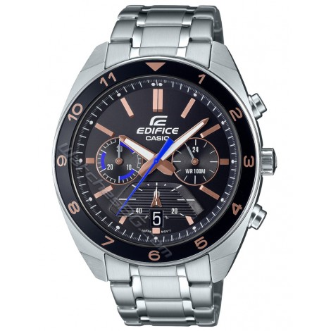 Мъжки спортно-елегантен часовник CASIO EDIFICE EFV-590D-1A Chronograph