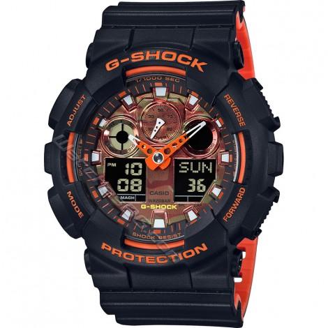 Мъжки кварцов часовник CASIO G-SHOCK GA-100BR-1A