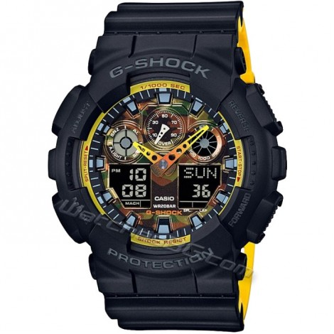 Спортен часовник Casio GA-100BY-1AE G-Shock