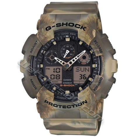 Часовник Casio GA-100MM-5AE G-Shock