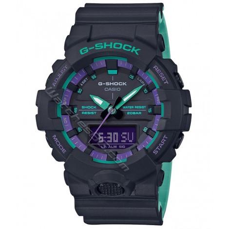 Мъжки кварцов часовник CASIO G-SHOCK GA-800BL-1A