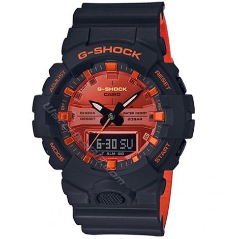Мъжки кварцов часовник CASIO G-SHOCK GA-800BR-1A