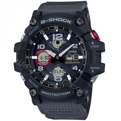 Спортен мъжки кварцов часовник CASIO GWG-100-1A8 G-SHOCK Mudmaster