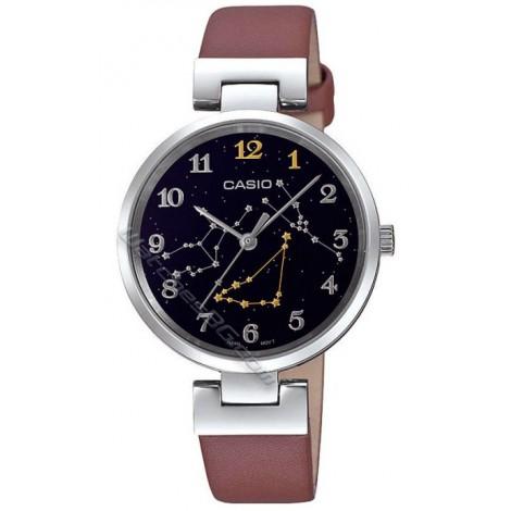 Дамски кварцов часовник CASIO Zodiac Times LTP-E12L-5A2