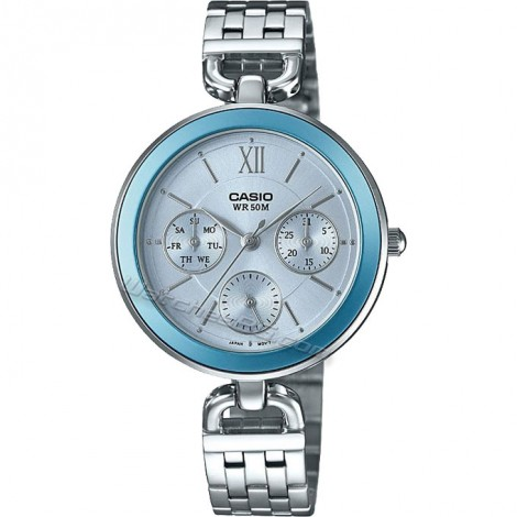 Дамски кварцов часовник CASIO LTP-E406D-2AV Collection