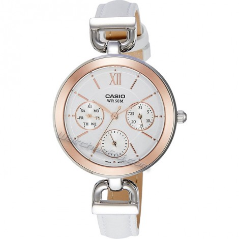 Елегантен дамски часовник CASIO LTP-E406L-7AV Collection