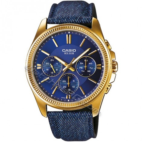 Часовник CASIO MTP-E304GBL-2AV Collection