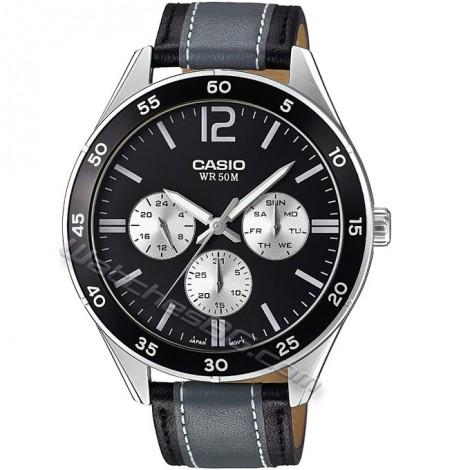 Ежедневен мъжки часовник CASIO MTP-E310L-1A1 Collection
