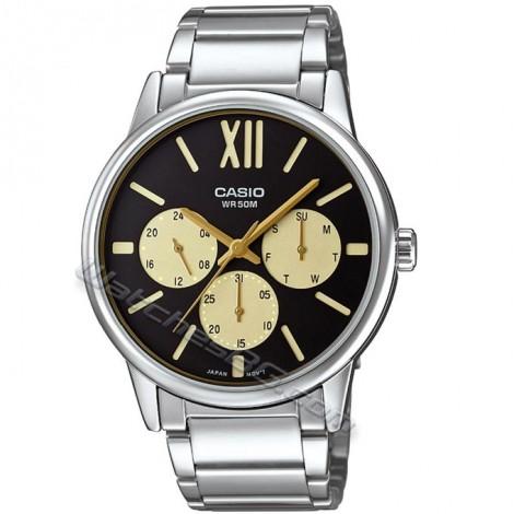 Ежедневен мъжки часовник CASIO MTP-E312D-1B1 Collection