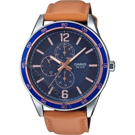 Мъжки кварцов часовник CASIO Collection MTP-E319L-2BV