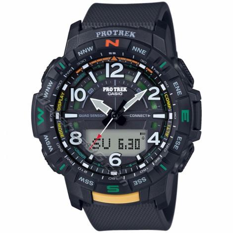 Спортен мъжки кварцов часовник CASIO Pro Trek PRT-B50-1E Bluetooth
