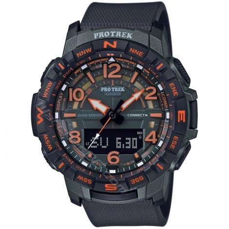 Спортен мъжки кварцов часовник CASIO Pro Trek PRT-B50FE-3ER Bluetooth