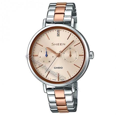 Дамски кварцов часовник CASIO SHE-3054SPG-4AU SHEEN