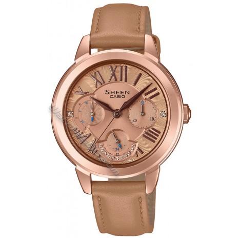 Дамски кварцов часовник CASIO SHEEN SHE-3059PGL-5A