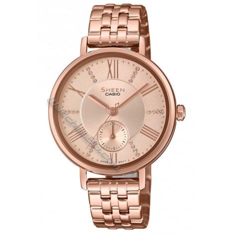 Дамски кварцов часовник CASIO SHEEN SHE-3066PG-4A