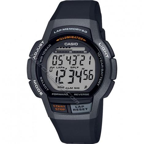 Мъжки кварцов часовник CASIO Collection WS-1000H-1A