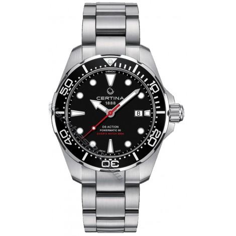 Швейцарски мъжки механичен часовник CERTINA DS Action Diver C032.407.11.051.00 Powermatic 80