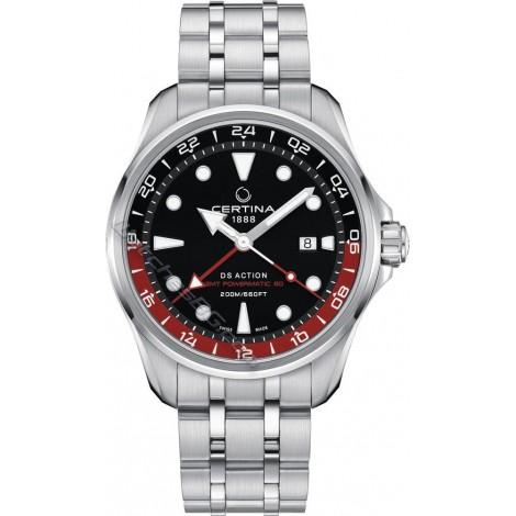 Швейцарски мъжки механичен часовник CERTINA DS Action GMT C032.429.11.051.00