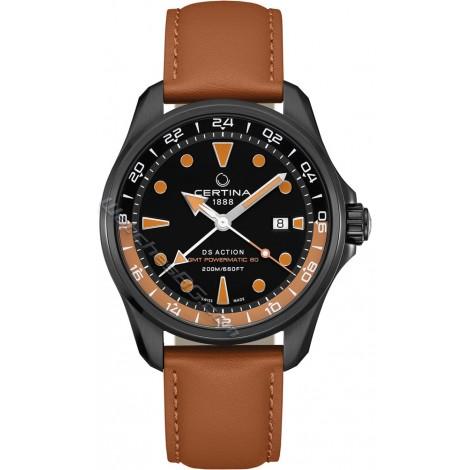 Швейцарски мъжки механичен часовник CERTINA DS Action GMT C032.429.36.051.00