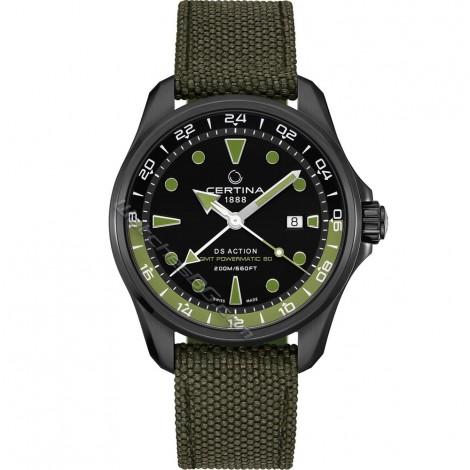 Швейцарски мъжки механичен часовник CERTINA DS Action GMT C032.429.38.051.00