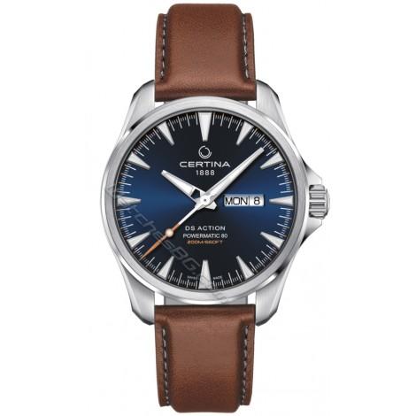 Швейцарски мъжки механичен часовник CERTINA DS Action C032.430.16.041.00