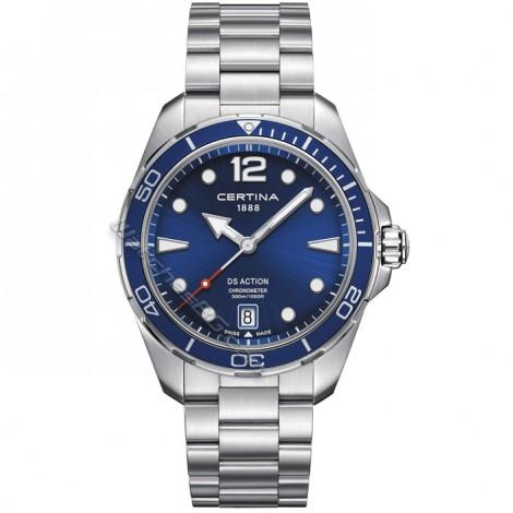 Швейцарски мъжки кварцов часовник CERTINA DS Action C032.451.11.047.00