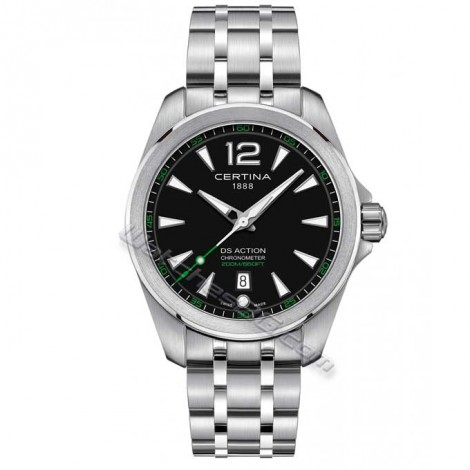 "Швейцарски мъжки кварцов часовник CERTINA ""DS Action"" C032.851.11.057.02"