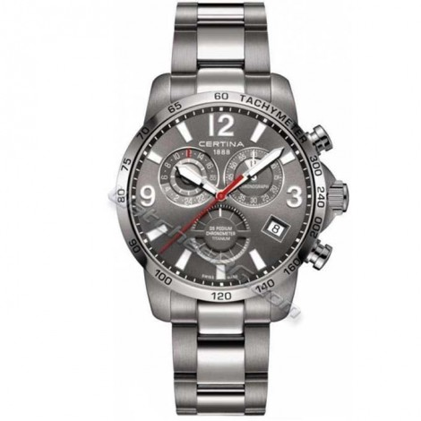 "Швейцарски мъжки часовник CERTINA Precidrive ""DS Podium Chronograph"" C034.654.44.087.00"