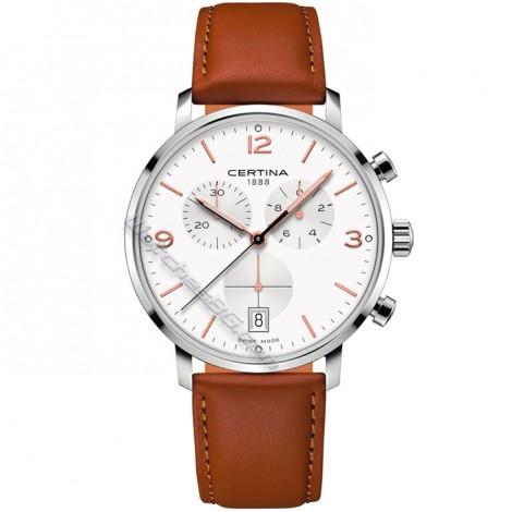 Мъжки кварцов часовник CERTINA DS Caimano C035.417.16.037.01 Chronograph