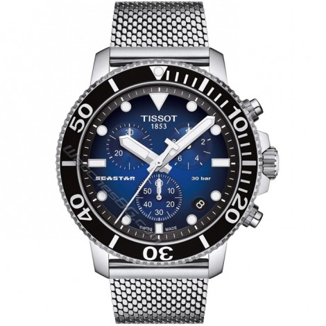 Мъжки кварцов часовник TISSOT Seastar T120.417.11.041.02 CHRONOGRAPH