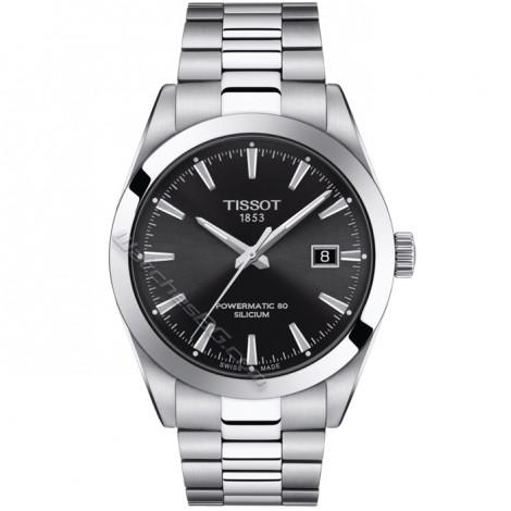 Мъжки автоматичен часовник Tissot Gentleman Powermatic 80 T127.407.11.051.00