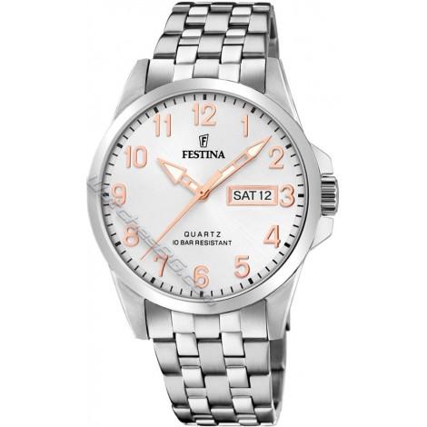 Мъжки кварцов часовник Festina Classic F20357/A