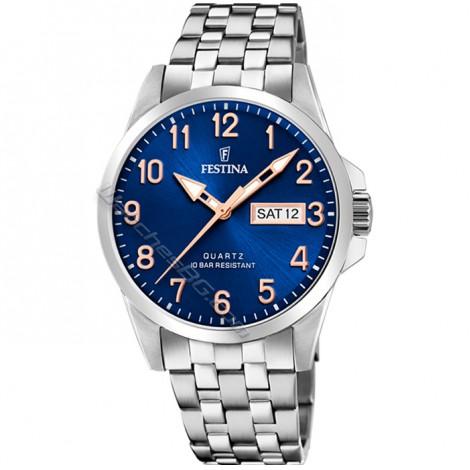 Мъжки кварцов часовник Festina Classic F20357/B