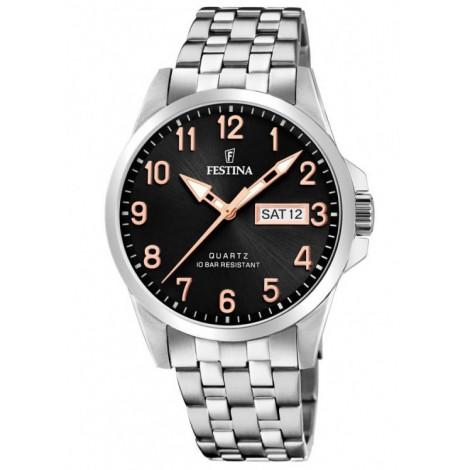 Мъжки кварцов часовник Festina Classic F20357/D